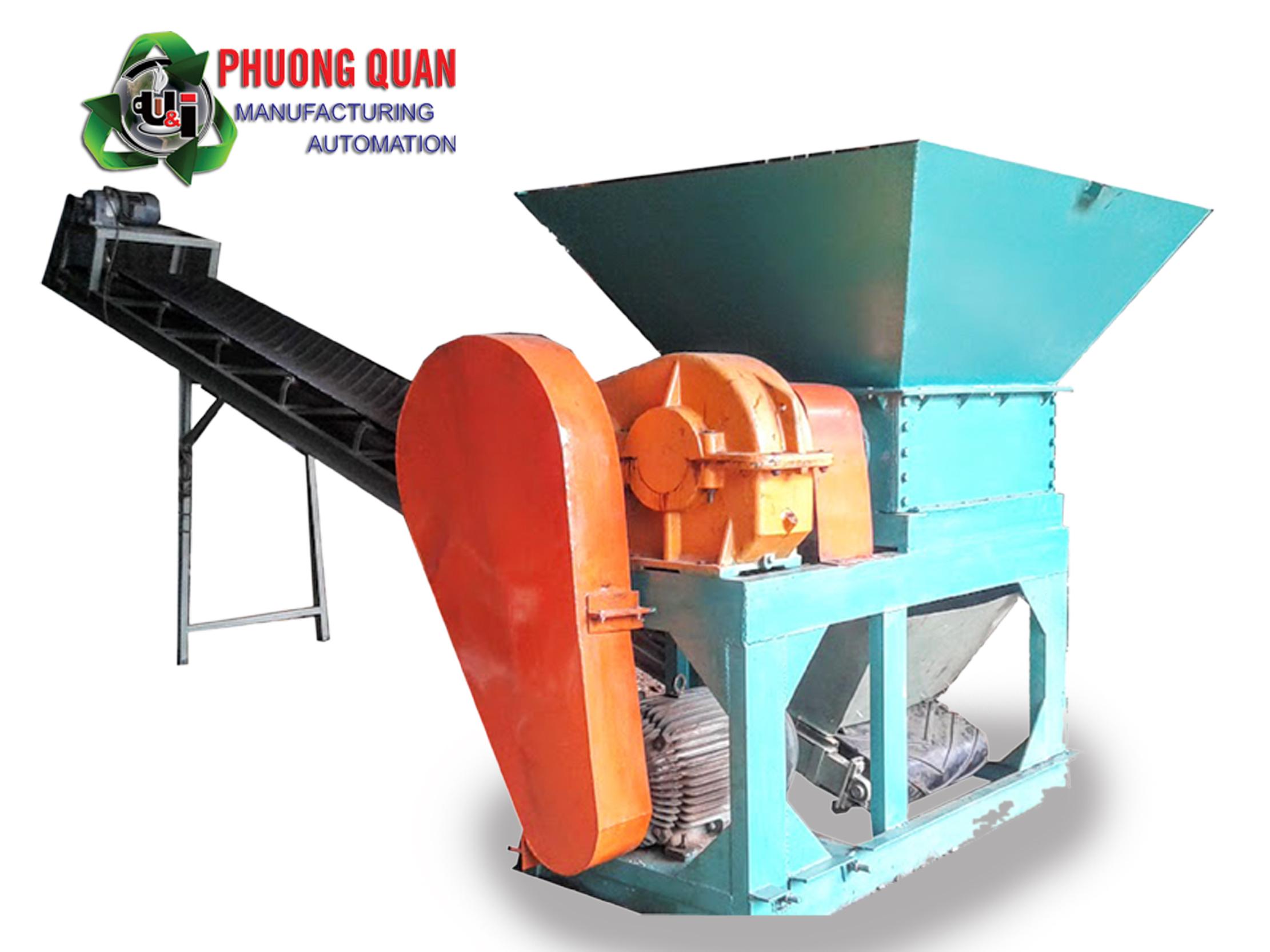 máy nghiền gỗ 2 trục tại Đà Nẵng