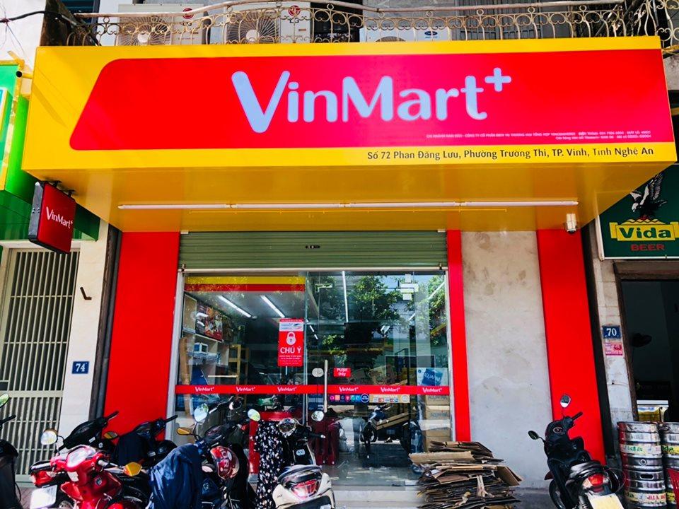 Dự án thi công cửa nhôm kính cho hệ thống VinMart+ tại Nghệ An